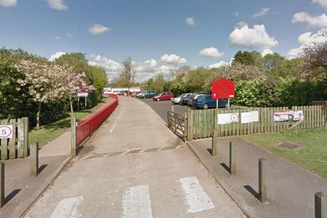 The entrance to Dunmore Primary School, Abingdon. Pic: Google Maps