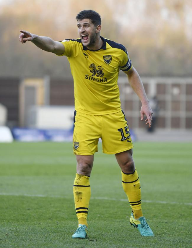 John Mousinho wants to fight for his place in the Oxford United team