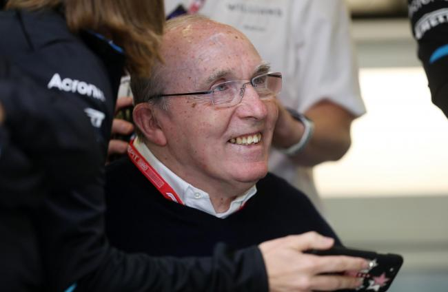 Sir Frank Williams during practice for the British Grand Prix at Silverstone yesterday Picture: David Davies/PA Wire