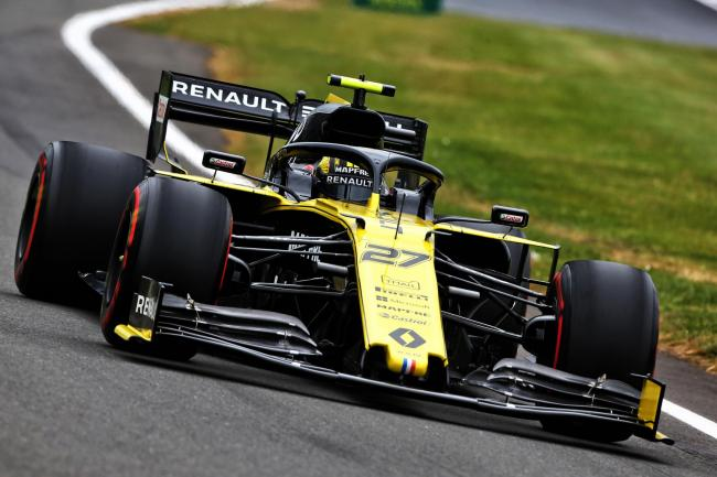 Renault driver Nico Hulkenberg finished fifth in Germany last year Picture: Renault Sport