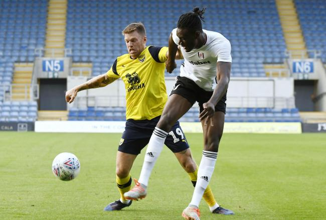 Jamie Mackie is Oxford United's only specialist centre forward