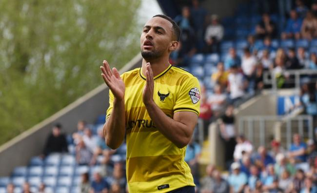 Kemar Roofe walks off in his final Oxford United appearance, in May 2016  Picture: David Fleming