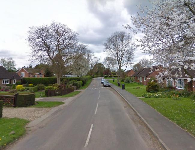 Part of the unnamed main road running through Stoke Row. Pic: Google Maps