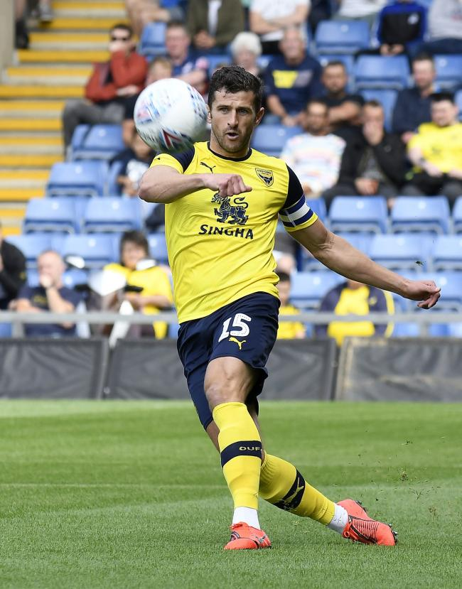 John Mousinho is looking to set the right tone at home tomorrow  Picture: David Fleming