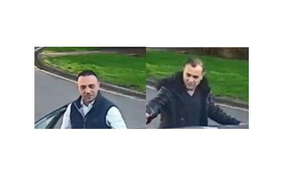 CCTV of two men police would like to speak to