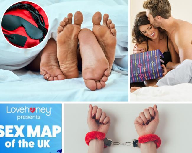 'Sex map of the UK' - where does your town come in the rankings?