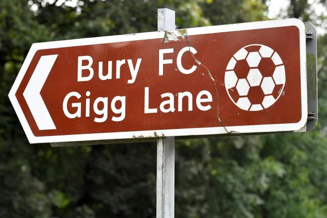Bury's future is in serious doubt