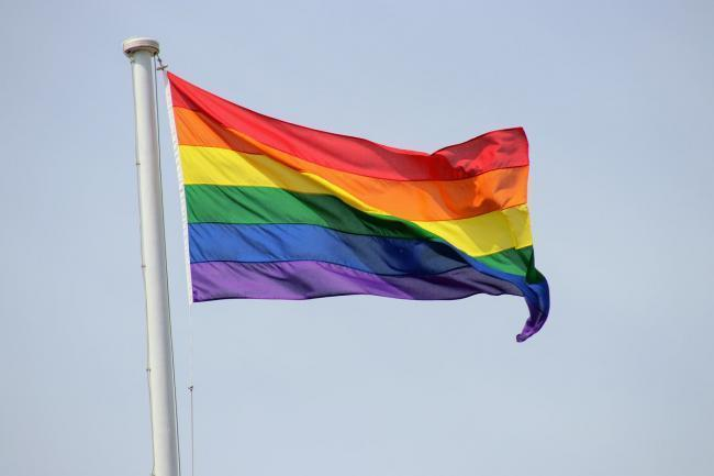 Abingdon pride flag by Camera Club member Howie Cook