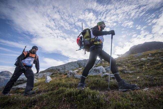 Wantage man Alex Flynn, who suffers from Parkinson's disease, took on 'one of the most difficult athletic events in the world' last year. Picture: Primal Quest