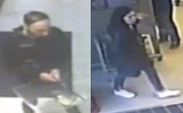 Image of a man and woman police would like to speak to in connection with a theft in Wantage Picture: Thames Valley Police