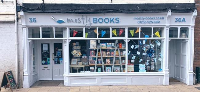 Mostly Books' new look