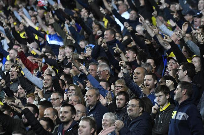 Oxford United supporters at the third-round win over West Ham last week   Picture: David Fleming