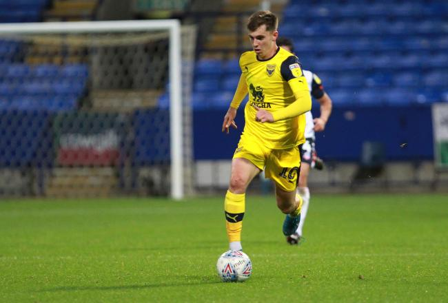 Ben Woodburn has made 12 appearances for Oxford United this season   Picture: Richard Parkes