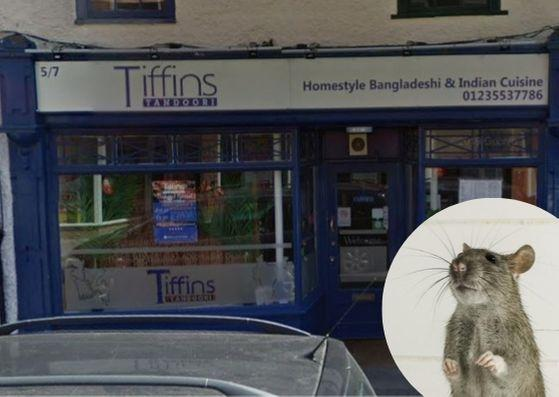 Indian restaurant 'infested with rats'