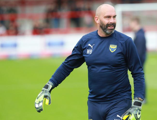 Oxford United goalkeeping coach Wayne Brown  Picture: Richard Parkes