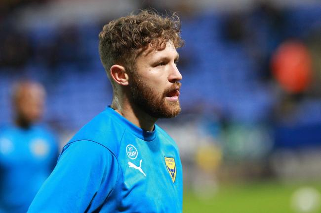 Matty Taylor will not be featuring for Oxford United today   Picture: Richard Parkes