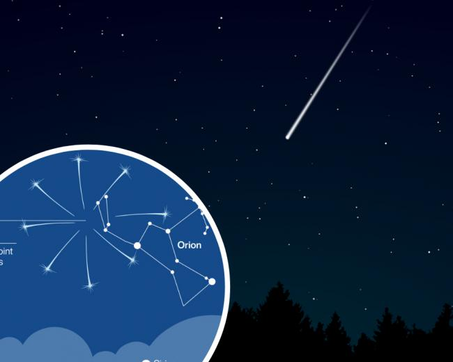 Meteor shower TONIGHT - where and when to see shooting stars
