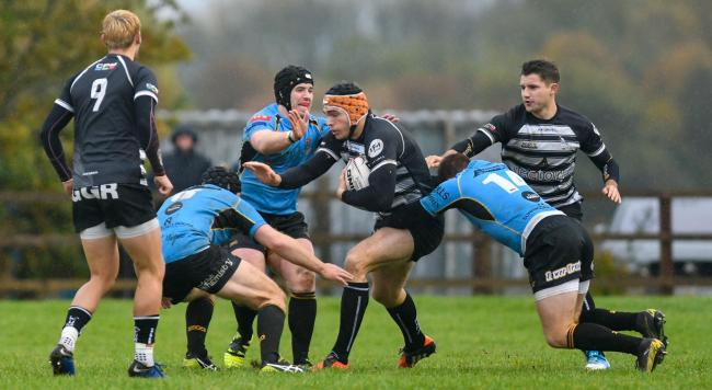 Chinnor's Chris Elder should keep his place at inside centre as they travel to Rosslyn Park Picture: Simon Cooper