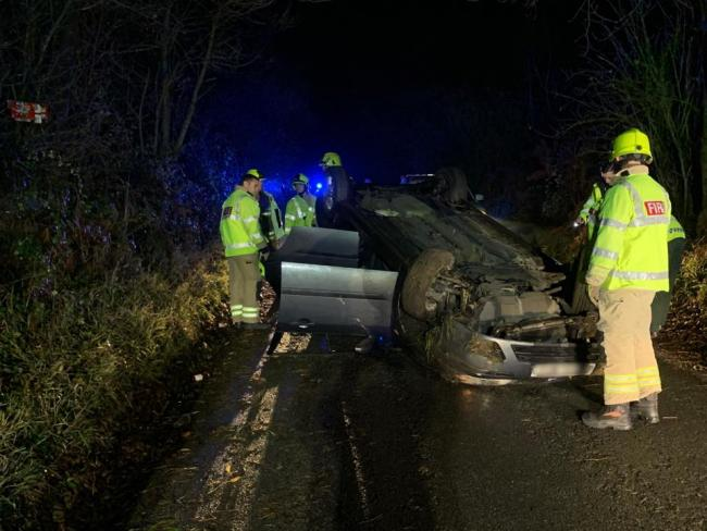 Passengers 'extremely fortunate' to survive crash last night