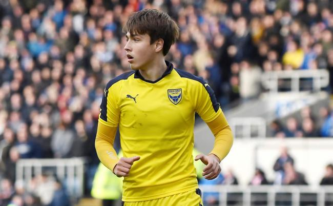 Slavi Spasov scored twice for Oxford United in his return from injury on Saturday