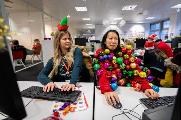 Herald Series: You could create your own seasonal sweater for Christmas Jumper Day. Pic credit: Save the Children