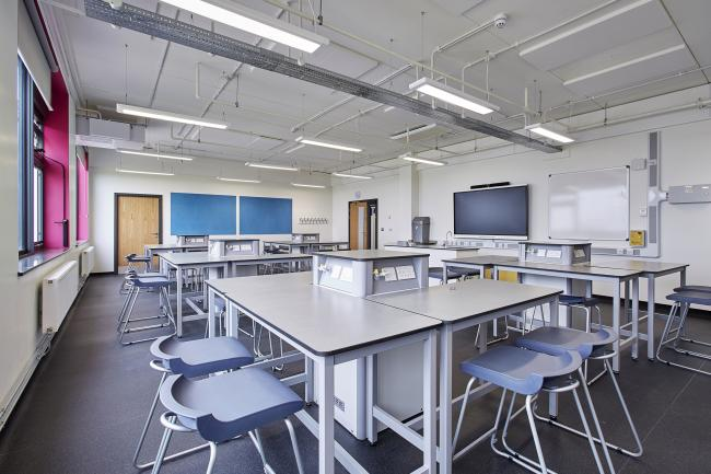 A classroom at Aureus School in Didcot. Picture: GLF Schools Trust