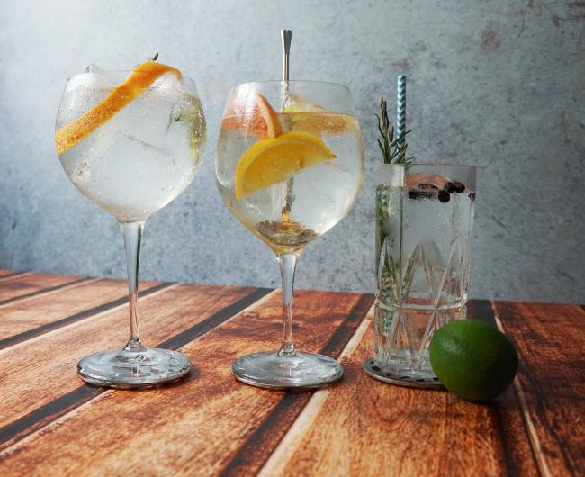 Customers will be able to choose from a range of gins