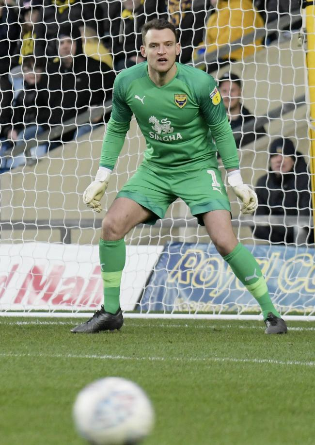 Oxford United goalkeeper Simon Eastwood played for Portsmouth in the 2012/13 season Picture: David Fleming
