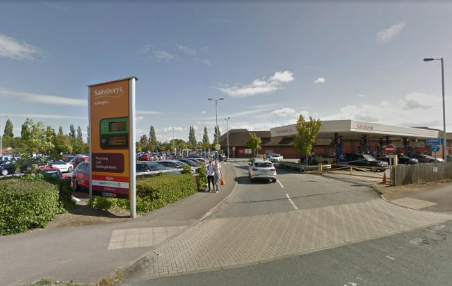 Man found stabbed in Sainsbury's car park
