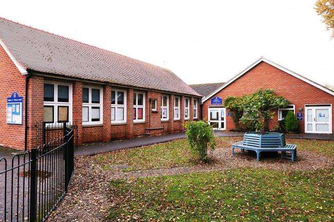 Part of Radley CE Primary School near Abingdon. Picture: Ric Mellis
