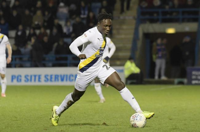 Dan Agyei impressed off the bench for Oxford United at Gillingham on Saturday  Picture: David Fleming