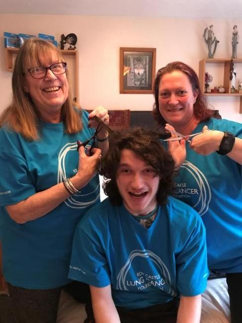 Grandmother, grandson and daughter will all shave their heads for charity.