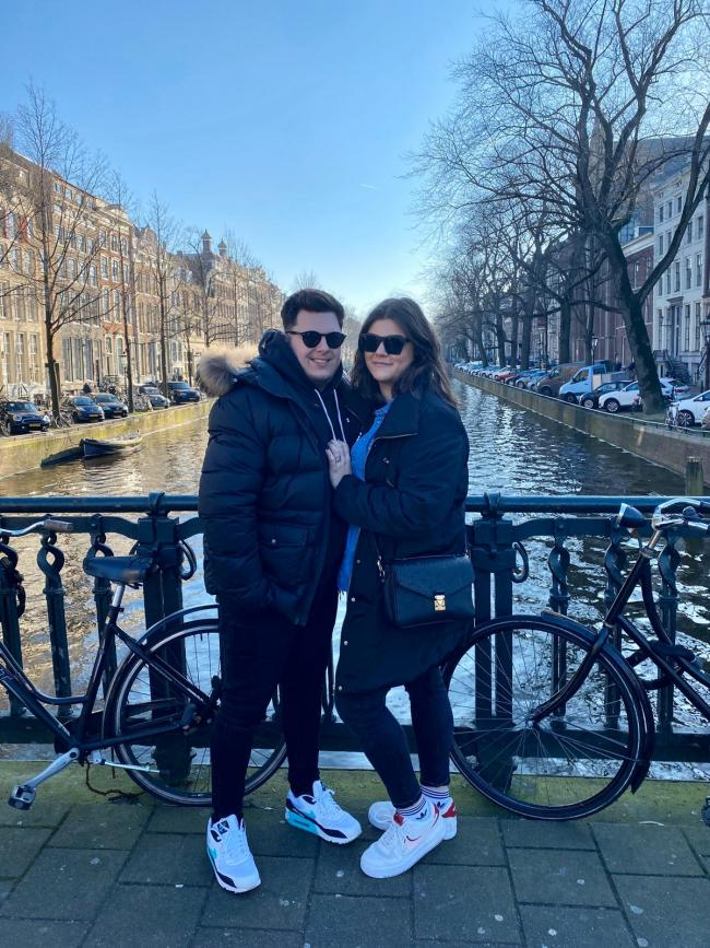 Couple stuck in Amsterdam after Storm Ciara grounds flight