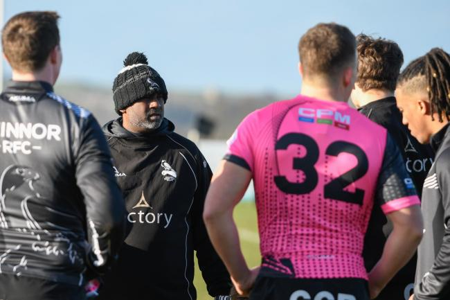 Chinnor are the highest-ranked Oxfordshire side waiting on the RFU's decisionPicture: Simon Cooper