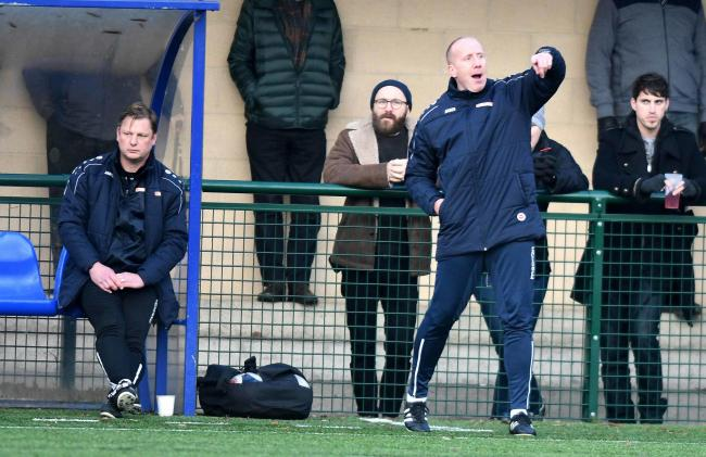 Andy Ballard says Oxford City are raring to go against St Albans after a week off Picture: Mike Allen