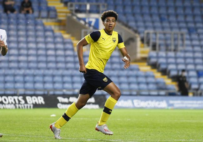 Oxford United's Nico Jones has joined Oxford City on a month's loan Picture: David Fleming