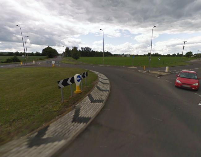 The Williams F1 roundabout. Picture: Google Maps