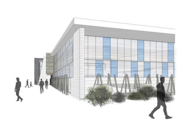How the new leisure centre may have looked.