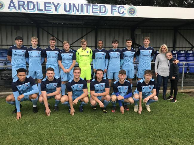 Ardley United's squad from last season. Their players have started training this week and it is hoped games could be played by September