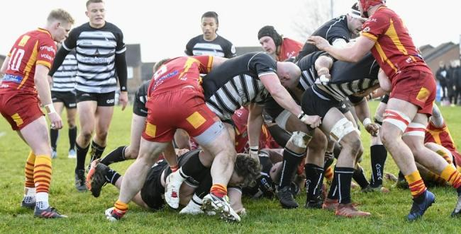 Chinnor (black and white) are the highest-ranked club in Oxfordshire Picture: Simon Cooper