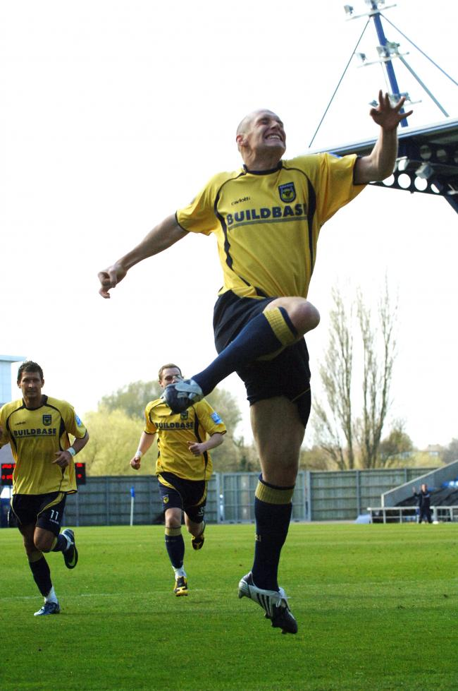 James Constable celebrates scoring against Histon    Pictures: Jon Lewis