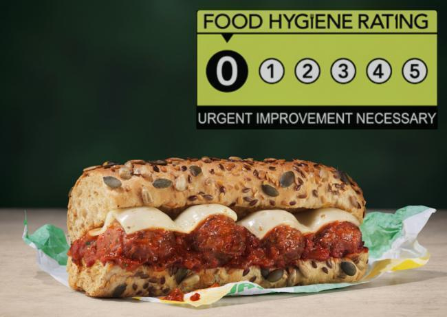 Investigation into disastrous food and hygiene findings about a Subway branch is still ongoing