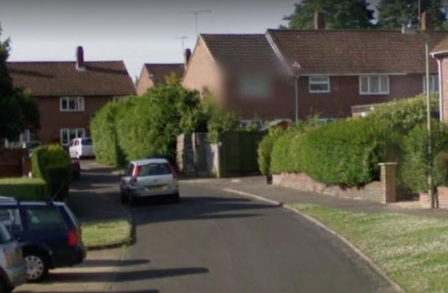 Gainsborough Crescent, Henley. Picture: Google Maps
