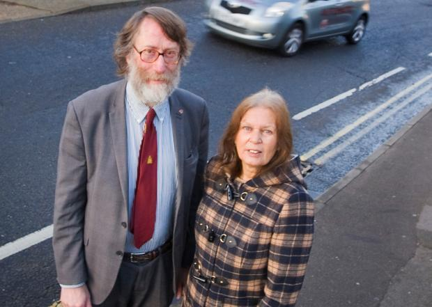 'Devoted' Abingdon town councillor Jeanette Halliday and her husband Jim in 2014.                                       Picture: Antony Moore