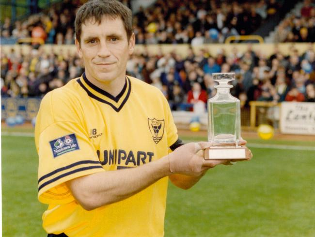 Les Robinson is sixth on Oxford United's all-time appearances list