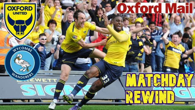 Oxford United rewind: The 2015/16 promotion-clincher against Wycombe tonight