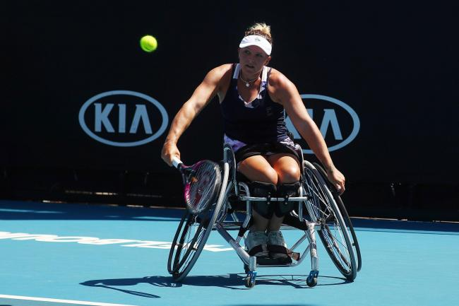 Jordanne Whiley is ranked fifth in the world  Picture: LTA