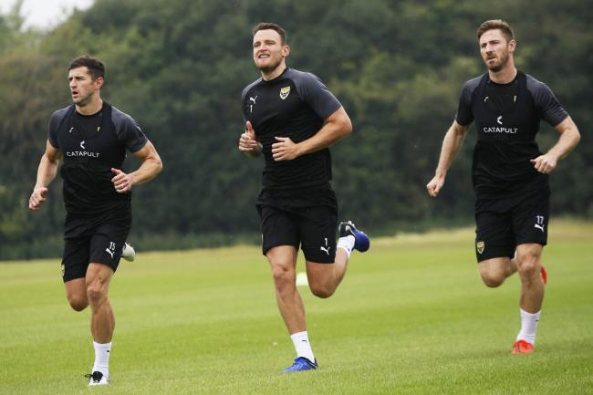 Oxford United, pictured in pre-season, intend to be back in training on Monday for the first time in more than 12 weeks Picture: Ed Nix