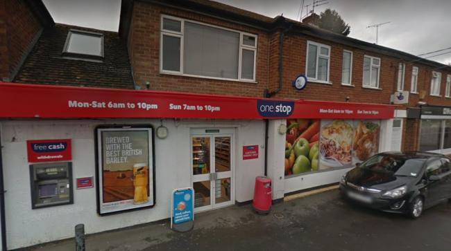 One Stop store, Abingdon. Pic: Google Maps