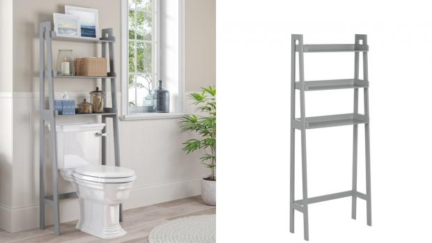 Herald Series: Over-the-toilet units provide a lot more storage space. Credit: Wayfair